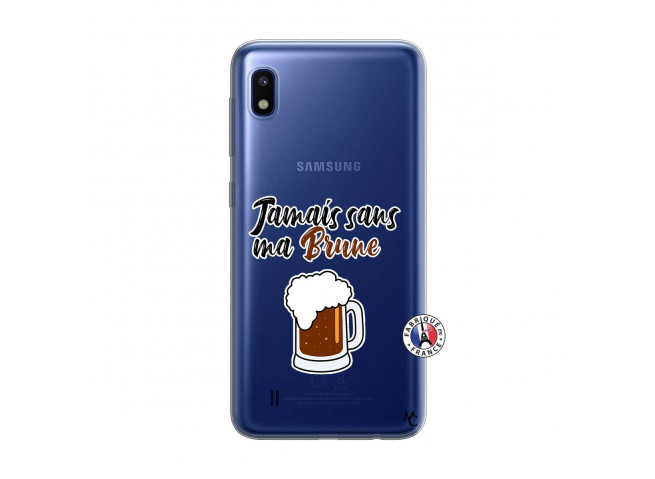 Coque Samsung Galaxy A10 Jamais Sans Ma Brune
