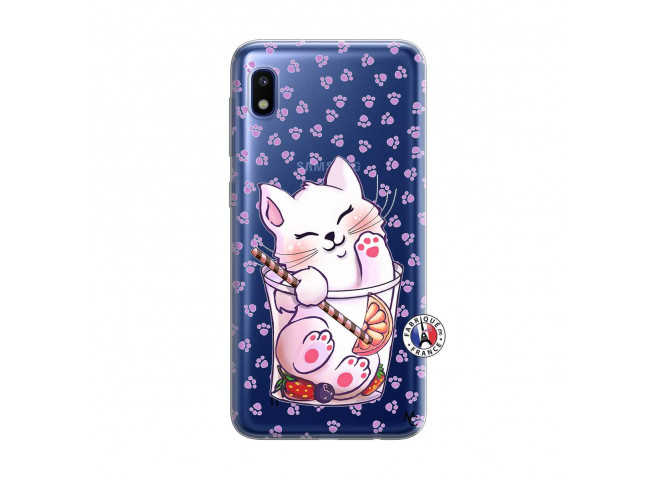 Coque Samsung Galaxy A10 Smoothie Cat