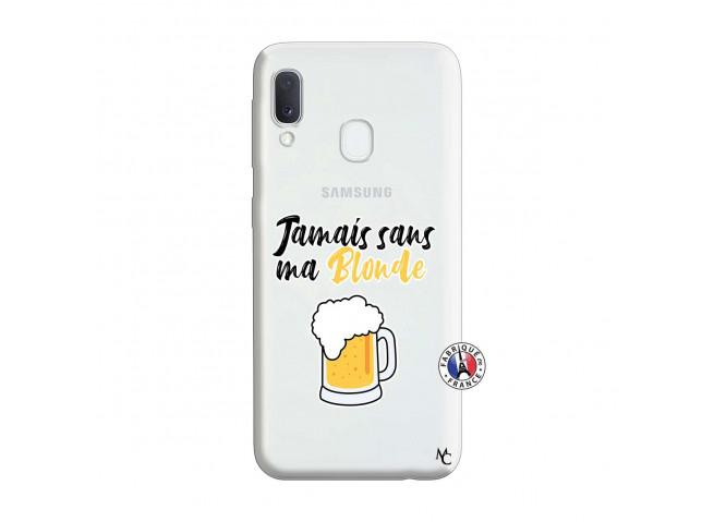 Coque Samsung Galaxy A20e Jamais Sans Ma Blonde