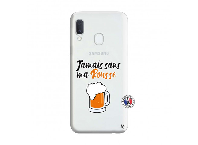 Coque Samsung Galaxy A20e Jamais Sans Ma Rousse