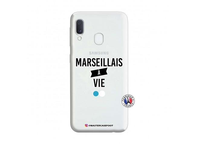 Coque Samsung Galaxy A20e Marseillais à Vie
