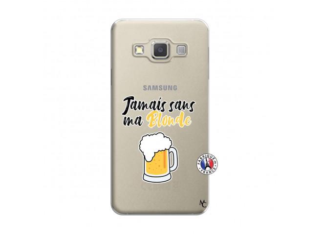 Coque Samsung Galaxy A3 2015 Jamais Sans Ma Blonde