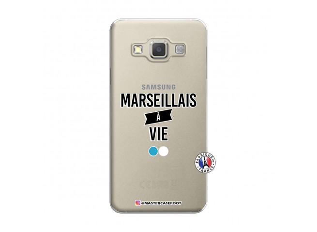 Coque Samsung Galaxy A3 2015 Marseillais à Vie