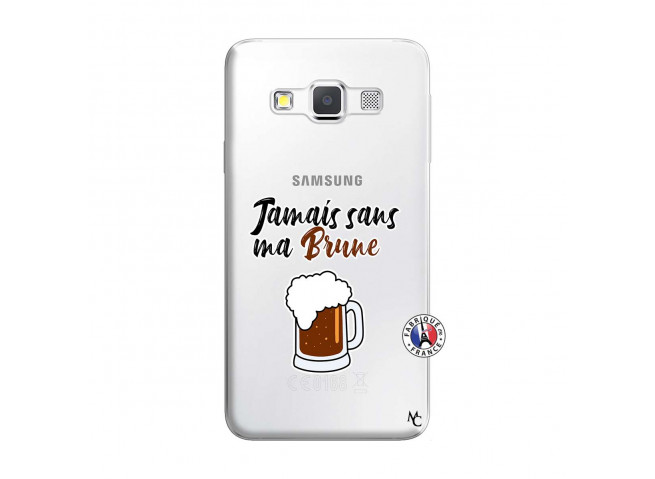 Coque Samsung Galaxy A3 2016 Jamais Sans Ma Brune