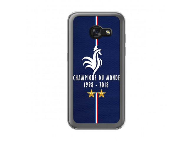 Coque Samsung Galaxy A3 2017 Champions Du Monde 1998 2018 Transparente