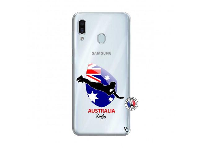 Coque Samsung Galaxy A30 Coupe du Monde Rugby-Australia