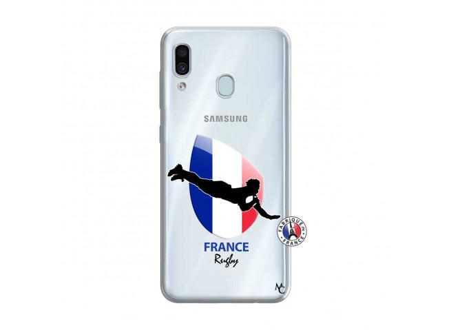 Coque Samsung Galaxy A30 Coupe du Monde de Rugby-France