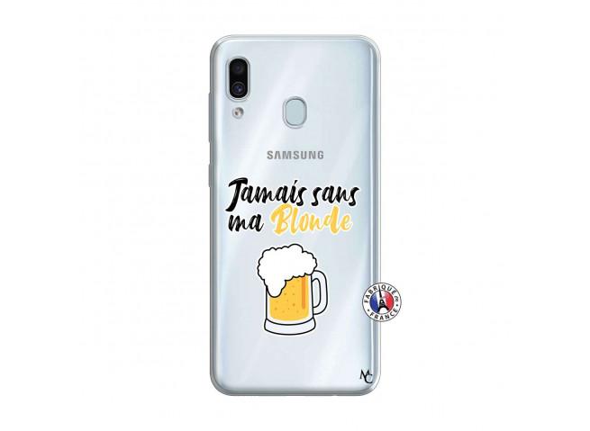 Coque Samsung Galaxy A30 Jamais Sans Ma Blonde