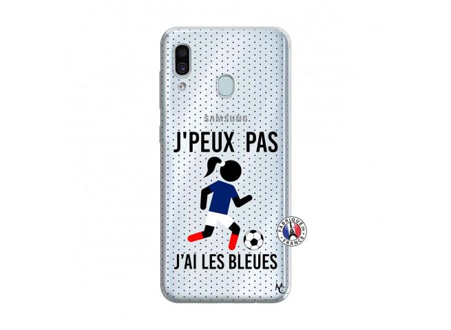 Coque Samsung Galaxy A30 Je Peux Pas J Ai Les Bleues Maillot