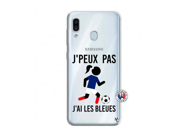 Coque Samsung Galaxy A30 Je Peux Pas J Ai Les Bleues