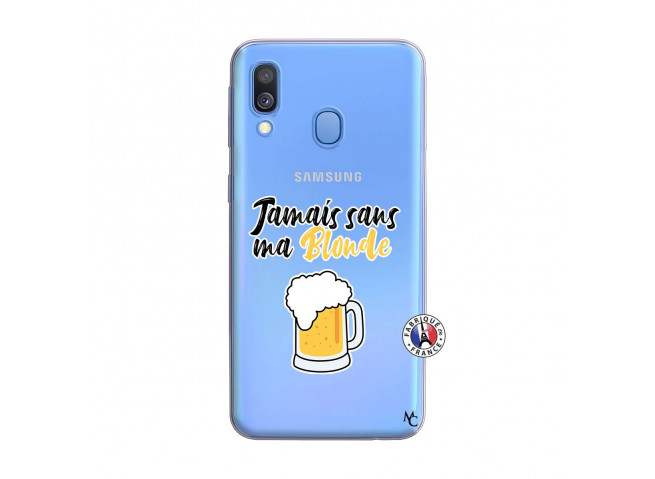 Coque Samsung Galaxy A40 Jamais Sans Ma Blonde