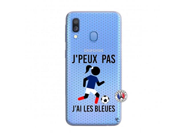 Coque Samsung Galaxy A40 Je Peux Pas J Ai Les Bleues Maillot