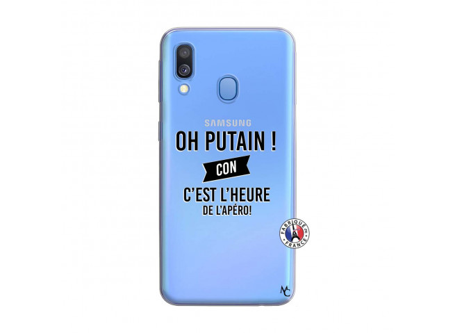 Coque Samsung Galaxy A40 Oh Putain C Est L Heure De L Apero