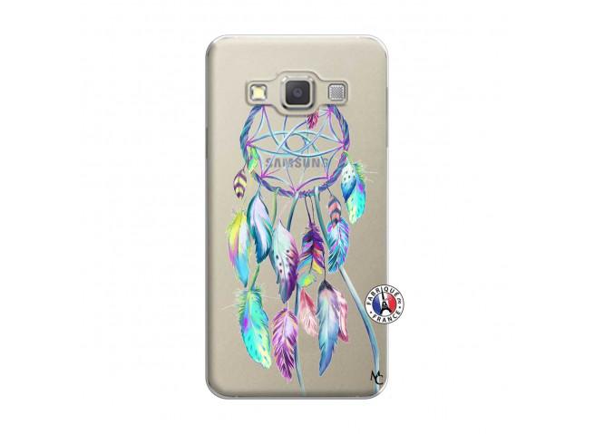 Coque Samsung Galaxy A5 2015 Blue Painted Dreamcatcher