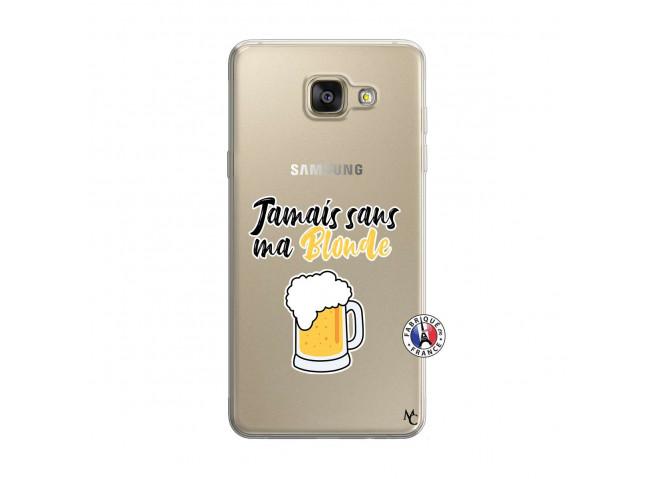 Coque Samsung Galaxy A5 2016 Jamais Sans Ma Blonde