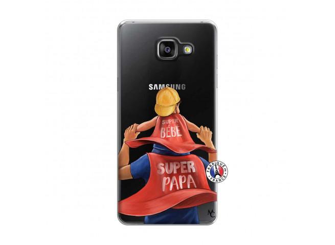 Coque Samsung Galaxy A5 2016 Super Papa et Super Bébé