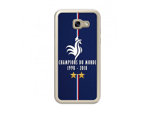 Coque Samsung Galaxy A5 2017 Champions Du Monde 1998 2018 Transparente