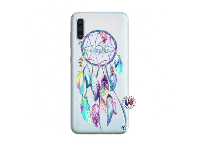 Coque Samsung Galaxy A50 Blue Painted Dreamcatcher