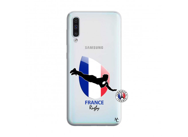 Coque Samsung Galaxy A50 Coupe du Monde de Rugby-France