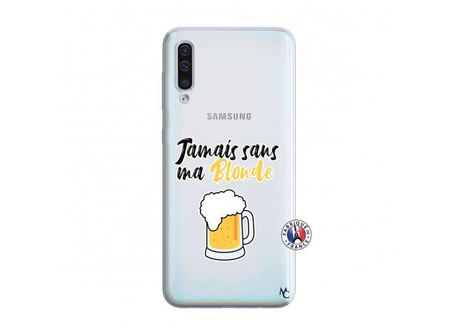 Coque Samsung Galaxy A50 Jamais Sans Ma Blonde