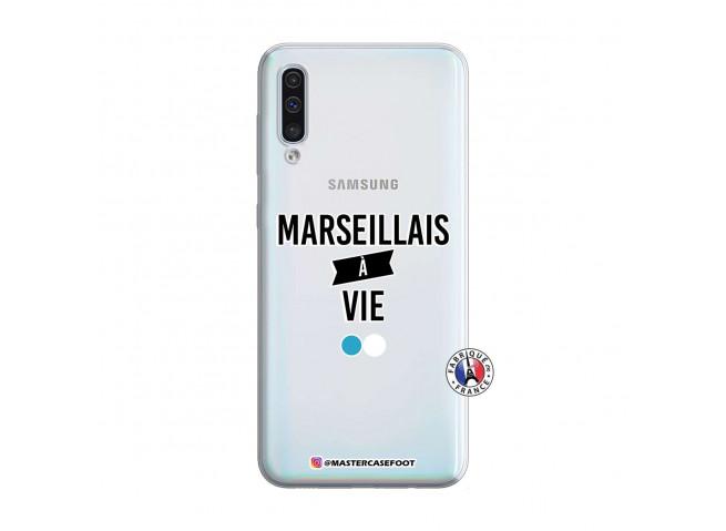 Coque Samsung Galaxy A50 Marseillais à Vie