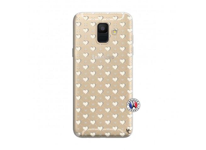 Coque Samsung Galaxy A6 2018 Little Hearts