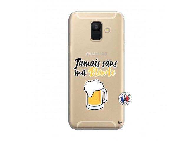 Coque Samsung Galaxy A6 2018 Jamais Sans Ma Blonde