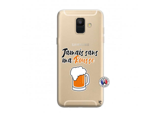 Coque Samsung Galaxy A6 2018 Jamais Sans Ma Rousse