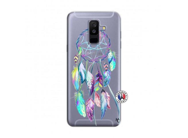 Coque Samsung Galaxy A6 Plus Blue Painted Dreamcatcher
