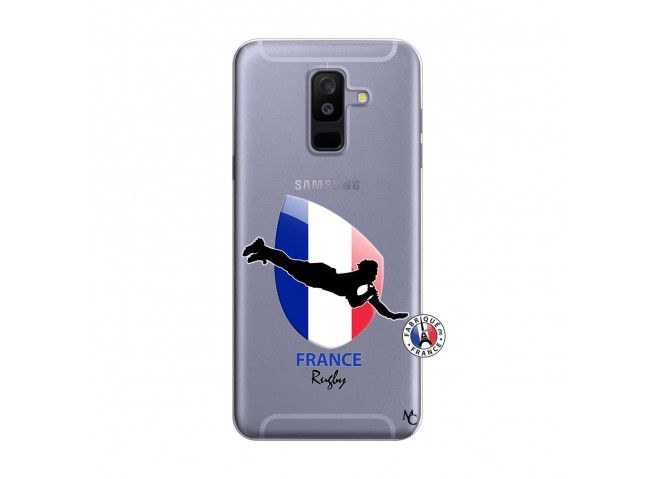 Coque Samsung Galaxy A6 Plus Coupe du Monde de Rugby-France