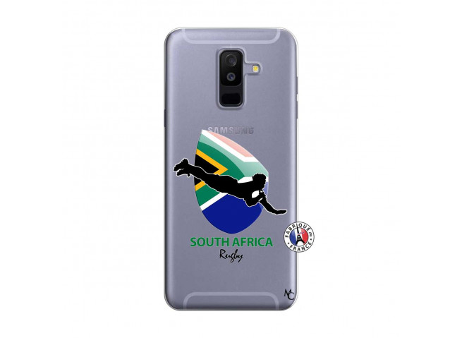Coque Samsung Galaxy A6 Plus Coupe du Monde Rugby-South Africa