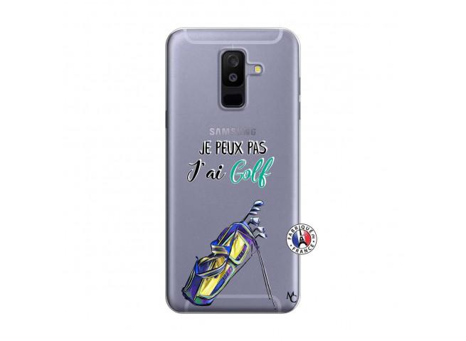 Coque Samsung Galaxy A6 Plus Je Peux Pas J Ai Golf