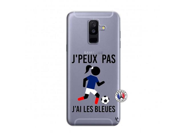 Coque Samsung Galaxy A6 Plus Je Peux Pas J Ai Les Bleues