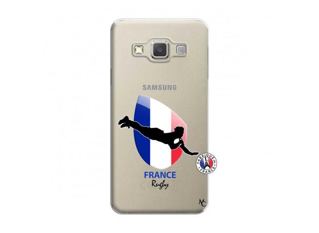 Coque Samsung Galaxy A7 2015 Coupe du Monde de Rugby-France