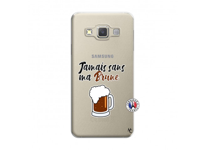 Coque Samsung Galaxy A7 2015 Jamais Sans Ma Brune