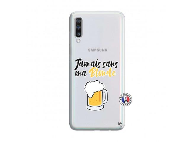 Coque Samsung Galaxy A70 Jamais Sans Ma Blonde