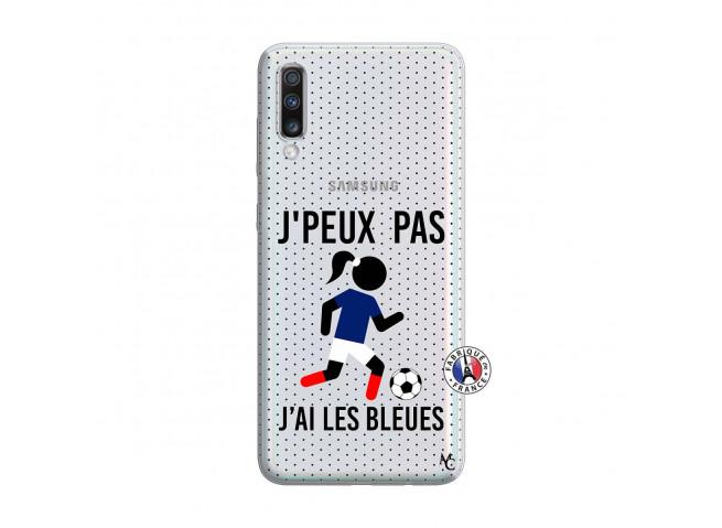 Coque Samsung Galaxy A70 Je Peux Pas J Ai Les Bleues Maillot