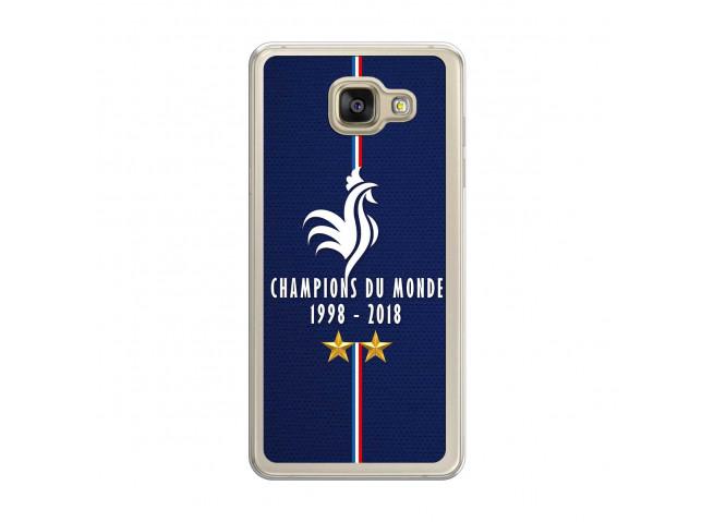 Coque Samsung Galaxy A7 Champions Du Monde 1998 2018 Transparente