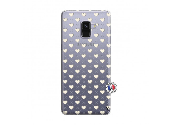 Coque Samsung Galaxy A8 2018 Little Hearts