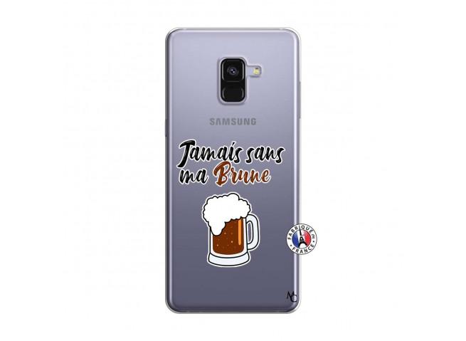 Coque Samsung Galaxy A8 2018 Jamais Sans Ma Brune