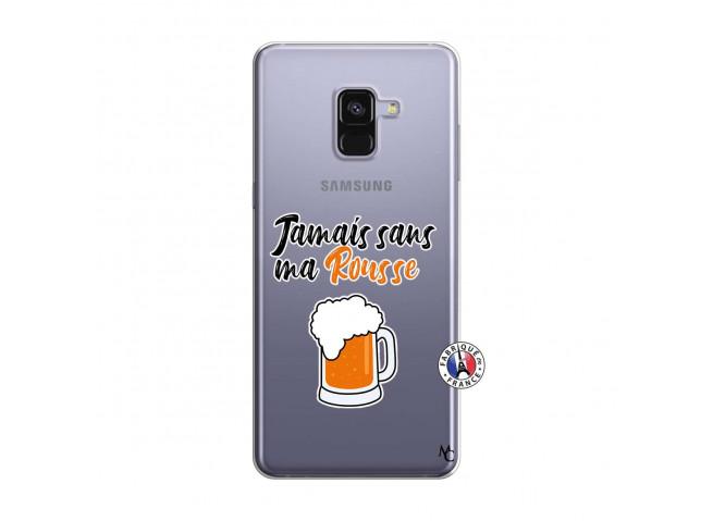 Coque Samsung Galaxy A8 2018 Jamais Sans Ma Rousse