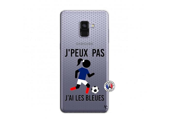Coque Samsung Galaxy A8 2018 Je Peux Pas J Ai Les Bleues Maillot