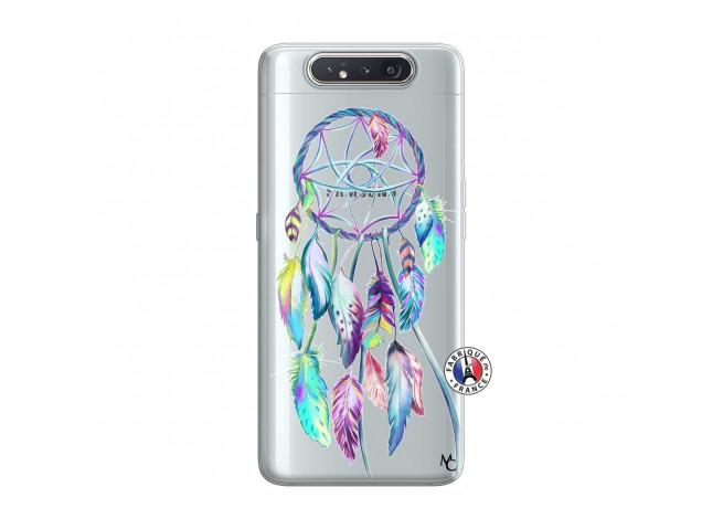 Coque Samsung Galaxy A80 Blue Painted Dreamcatcher