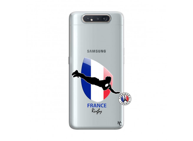Coque Samsung Galaxy A80 Coupe du Monde de Rugby-France