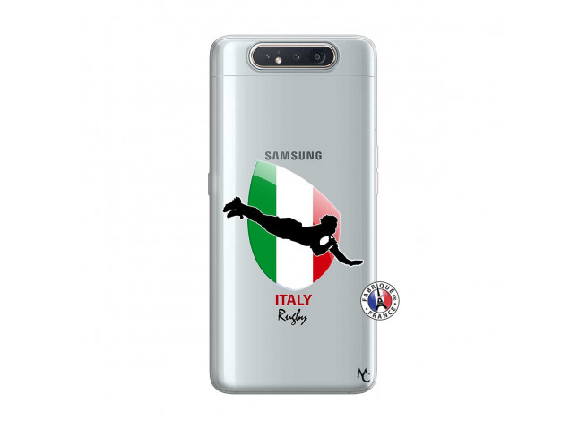 Coque Samsung Galaxy A80 Coupe du Monde Rugby-Italy