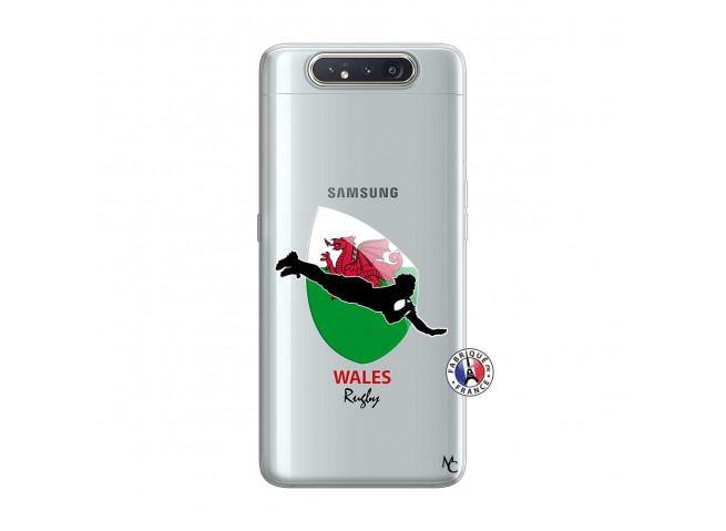 Coque Samsung Galaxy A80 Coupe du Monde Rugby-Walles