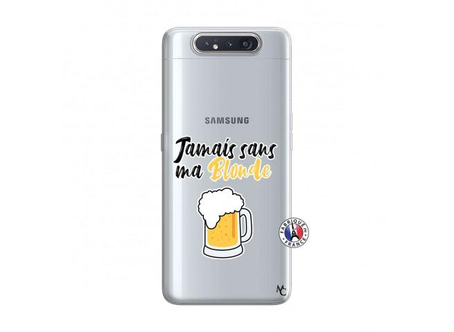 Coque Samsung Galaxy A80 Jamais Sans Ma Blonde