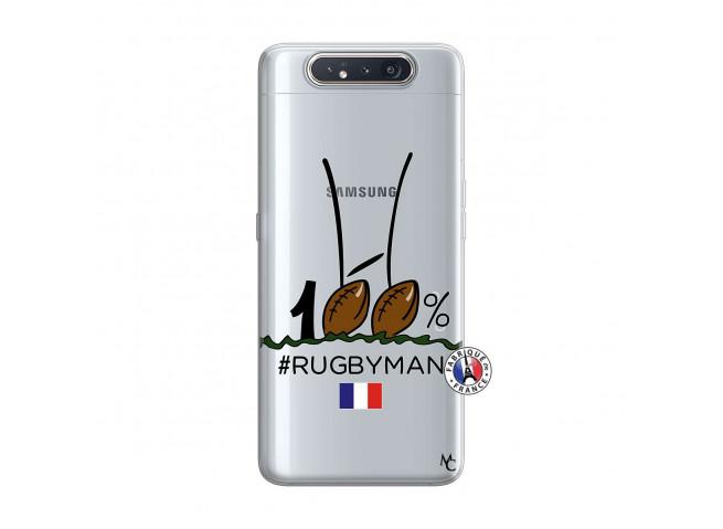 Coque Samsung Galaxy A80 100 % Rugbyman Entre les Poteaux