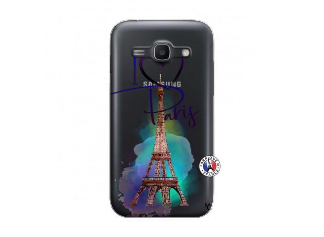 Coque Samsung Galaxy ACE 3 I Love Paris