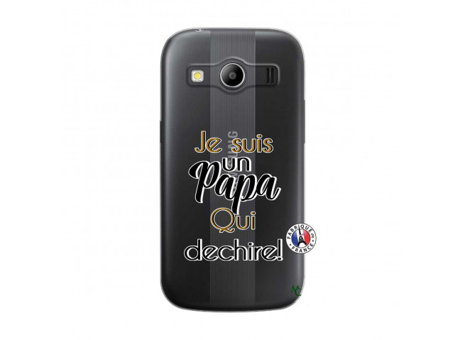 Coque Samsung Galaxy ACE 4 Je Suis Un Papa Qui Dechire